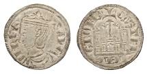 World Coins - SPAIN Castille & Leon Sancho IV 1284-1295 Cornado (Dinero) AU