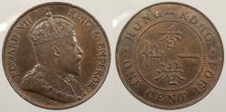 World Coins - HONG KONG: 1904-H Cent