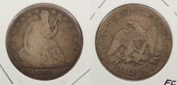 Us Coins - 1861 O Seated Liberty 50 Cents (Half Dollar)