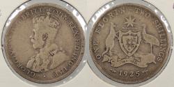 World Coins - AUSTRALIA: 1925 Florin