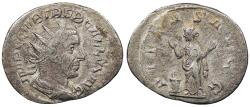 Ancient Coins - Trebonianus Gallus 251-253 A.D. Antoninianus Rome or Milan Mint VF