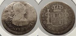 World Coins - GUATEMALA: 1792-NG M 1/2 Real