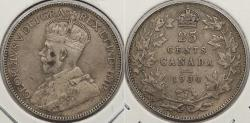 World Coins - CANADA: 1930 25 Cents