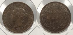 World Coins - CANADA: 1896 Victoria Cent