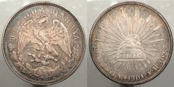 World Coins - MEXICO: Republic 1901-Mo AM Nicely toned Peso