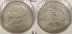 World Coins - BOLIVIA: 1975 Sesquicentennial. 500 Pesos Bolivianos