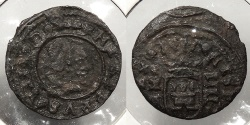 World Coins - SPAIN: Cuenca 1662-1664 4 Maravedis