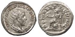 Ancient Coins - Philip I 244-249 A.D. Antoninianus Rome Mint Near EF