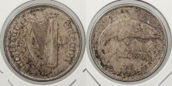 World Coins - IRELAND: 1928 Florin
