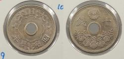 World Coins - JAPAN: Yr. 6 (1931) 10 Sen