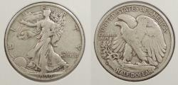 Us Coins - 1929 S Walking Liberty 50 Cents (Half Dollar)