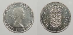 World Coins - GREAT BRITAIN: 1953 Shilling Proof