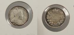 World Coins - CANADA: 1907 5 Cents