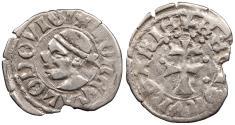 World Coins - HUNGARY Ludwig (Ludwic I of Poland) 1342-1382 Denar EF