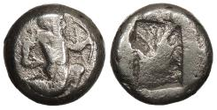 Ancient Coins - Achaemenid Kings Time of Artaxerxes II to Artaxerxes III c. 375-340 B.C. Siglos Fine