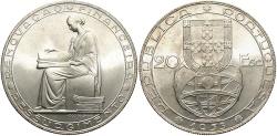 World Coins - PORTUGAL: 1953 10 Escudos