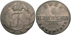 World Coins - GERMAN STATES: Saxe-Hildburghausen 1825 6 Kreuzer