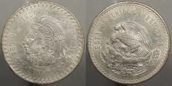 World Coins - MEXICO: 1948-Mo 5 Pesos