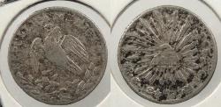 World Coins - MEXICO: Guanajuato 1842-Go PM/J 1/2 Real