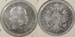 World Coins - AUSTRIA: 1888 Florin