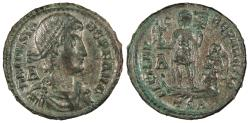 Ancient Coins - Constans 337-361 A.D. AE2 Thessalonica Mint VF