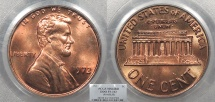 Us Coins - 1972 Lincoln 1 Cent Doubled Die Obverse; FS-103 (033.53) PCGS MS-64 RD