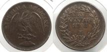 World Coins - MEXICO: 1898-Mo Centavo