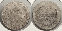 World Coins - GERMAN STATES: Baden 1816 3 Kreuzer