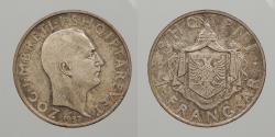World Coins - ALBANIA: 1937 Frang Ar
