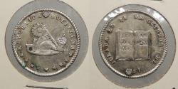 World Coins - BOLIVIA: 1851 Proclamation coin