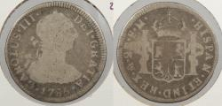 World Coins - MEXICO: 1785-Mo FM Charles III 2 Reales