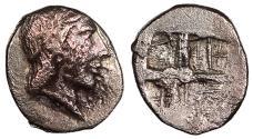 Ancient Coins - Ionia Kolophon c. 450-410 B.C. Hemiobol VF
