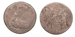 World Coins - MEXICO War of Independence Zacatecas Loyalists for Ferdinand VII 1811-1812 Real F-VF
