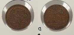 World Coins - EGYPT: 1917 / AH 1335 1/2 Millieme