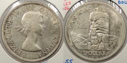 World Coins - CANADA: 1958 Dollar