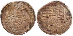 World Coins - HUNGARY Ludwig I 1516-1526 Pfennig 1522(?) Near VF