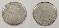World Coins - MEXICO: 1792-Mo FM Charles IV Real