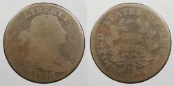Us Coins - 1798 Draped Bust 1 Cent Horned 9; S-148 AG-3