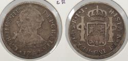 World Coins - PERU: 1788-LIMAE IJ Charles III 2 Reales