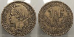 World Coins - CAMEROON: 1925 Franc