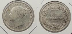 World Coins - GREAT BRITAIN: 1880 Victoria. Shilling