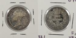 World Coins - GREAT BRITAIN: 1851 Sixpence