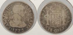 World Coins - PERU: 1773-LIMAE JM Charles III 2 Reales
