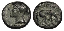 Ancient Coins - Thessaly Larissa c. 400-344 B.C. AE12 Nice VF