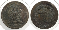 World Coins - MEXICO: 1894-Mo Centavo