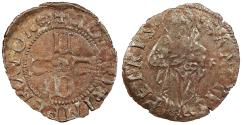 World Coins - ITALY Lucca Republic 1369-1799 Albulo Ca. 1400 Near EF