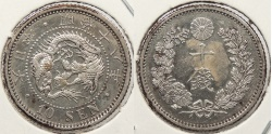 World Coins - JAPAN: 1885 10 Sen