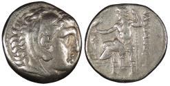 Ancient Coins - Kings of Macedon Alexander III (The Great) 336-323 B.C. Tetradrachm Good Fine
