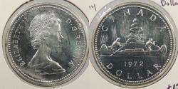 World Coins - CANADA: 1972 Proof-like. Dollar