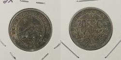 World Coins - BOLIVIA: 1942 20 Centavos